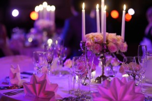 6 ways to create a beautiful wedding reception