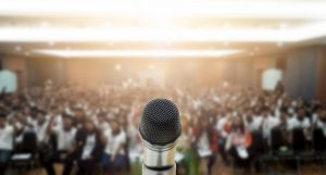 3 Tips for Public Speaking at a Corporate Event